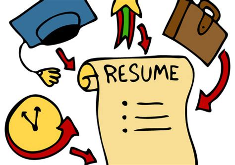Proper format for writing a resume